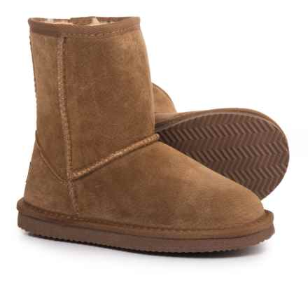 LAMO Footwear Classic Round-Toe Boots - Suede (For Girls) in Chestnut - Closeouts