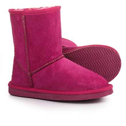 LAMO Footwear Classic Round-Toe Boots - Suede (For Girls) in Hot Pink - Closeouts