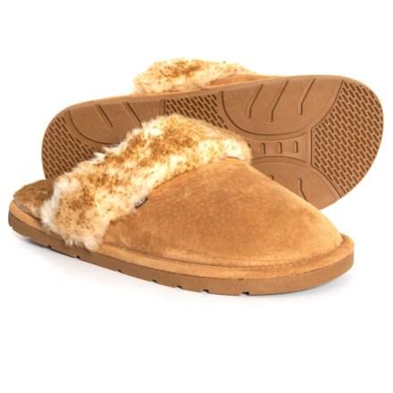 afd2fa1c3 Suede Shoe Black Lamo Mens Scuff Slipper