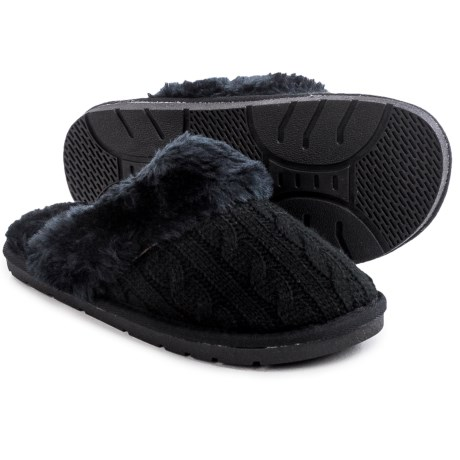 LAMO Footwear Knit Scuff Slippers (For Women)