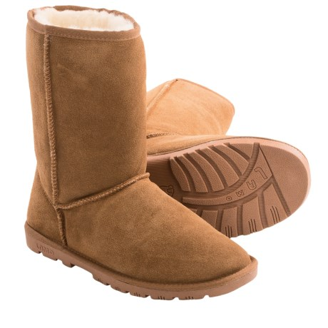 LAMO Footwear Ladys 9 Boots Sheepskin Lined (For Women)