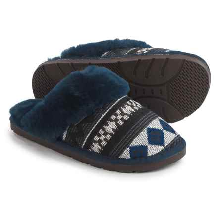 LAMO Footwear Ocotillo Scuff Slippers (For Women) in Navy - Closeouts