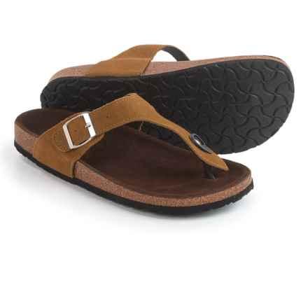 LAMO Footwear Redwood Sandals - Suede (For Women) in Chestnut - Closeouts