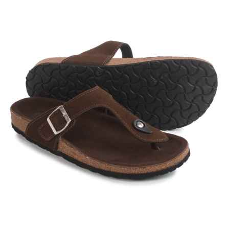 LAMO Footwear Redwood Sandals - Suede (For Women) in Chocolate - Closeouts