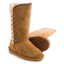 LAMO Footwear Robyn Snow Boots - Suede, Faux-Fur Lined (For Women) in Chestnut - Closeouts