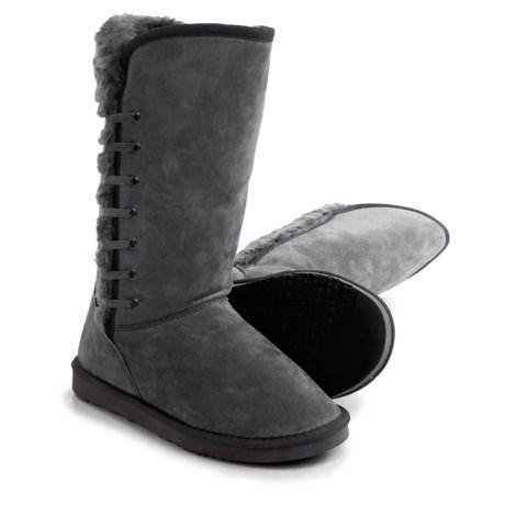 LAMO Footwear Robyn Snow Boots - Suede, Faux-Fur Lined (For Women)