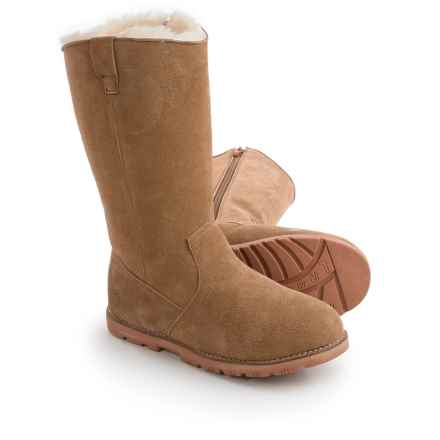 Lamo Footwear Roper Sheepskin Boots (For Women) in Chestnut - Closeouts