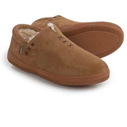 LAMO Footwear Russian Suede Shoes - Slip-Ons (For Women) in Chestnut - Closeouts