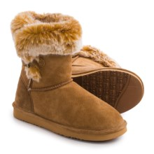 LAMO Footwear Sable Boots - Suede (For Women) in Chestnut - Closeouts
