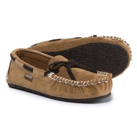 LAMO Footwear Sabrina Moccasins (For Little and Big Kids) in Chestnut