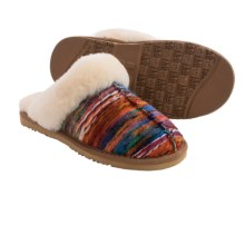 LAMO Footwear Scuff Slippers - Sheepskin Lined (For Women) in Multi - Closeouts