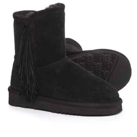 LAMO Footwear Sellas Boots - Suede (For Girls) in Black - Closeouts