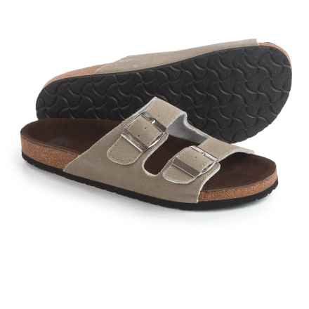 LAMO Footwear Sequoia Sandals - Suede (For Women) in Mushroom - Closeouts