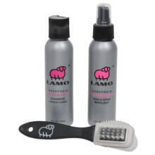 LAMO Footwear Sheepskin Cleaning and Care Kit - 3-Piece in See Photo - Closeouts