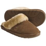 LAMO Footwear Sheepskin Scuff Slippers - Suede (For Women)
