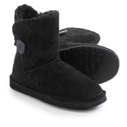 LAMO Footwear Snowmass Boots - Suede (For Women) in Black - Closeouts