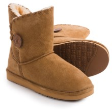 LAMO Footwear Snowmass Boots - Suede (For Women) in Chestnut - Closeouts