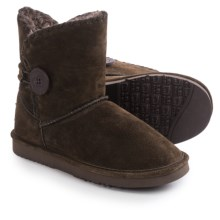 LAMO Footwear Snowmass Boots - Suede (For Women) in Chocolate - Closeouts