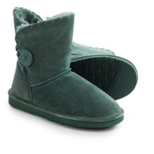 LAMO Footwear Snowmass Boots - Suede (For Women) in Emerald - Closeouts