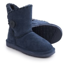 LAMO Footwear Snowmass Boots - Suede (For Women) in Navy - Closeouts