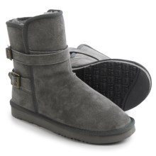 LAMO Footwear Tempest Boots - Suede (For Women) in Charcoal - Closeouts