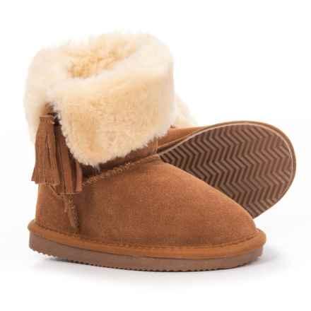 LAMO Footwear V-Tassel Boot (For Girls) in Chestnut - Closeouts