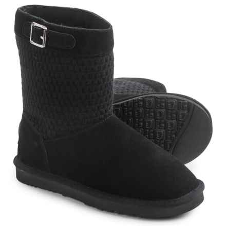 "LAMO Footwear Vesper Boots - 7"", Suede (For Women) in Black - Closeouts"