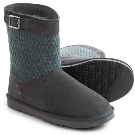 "LAMO Footwear Vesper Boots - 7"", Suede (For Women) in Charcoal - Closeouts"