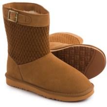 """LAMO Footwear Vesper Boots - 7"""", Suede (For Women) in Chestnut - Closeouts"""