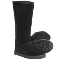 "Lamo Sheepskin Classic 14"" Boots - Shearling Lining (For Women) in Black - Closeouts"