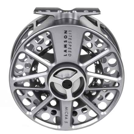 Lamson Litespeed 3.5 Micra 5 Fly Reel - 8-9wt, Factory 2nds in See Photo - 2nds