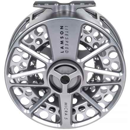 Lamson Litespeed 4 Micra 5 Fly Reel - 10-11wt, Factory 2nds in See Photo - 2nds