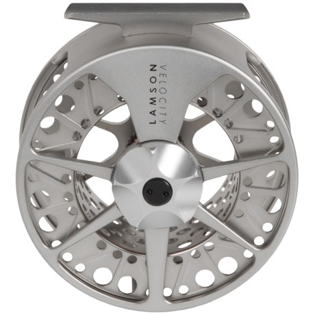 Lamson Velocity 3X Fly Fishing Reel - 8wt in Nickel Finish