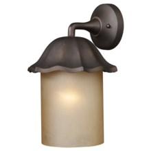 Landmark Lighting Monteflor Outdoor Wall Sconce - 1-Light in Clay Bronze - Closeouts