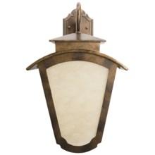 "Landmark Lighting Porter Outdoor Wall Sconce - 13x21"", 2-Light in Hazelnut Bronze - Closeouts"