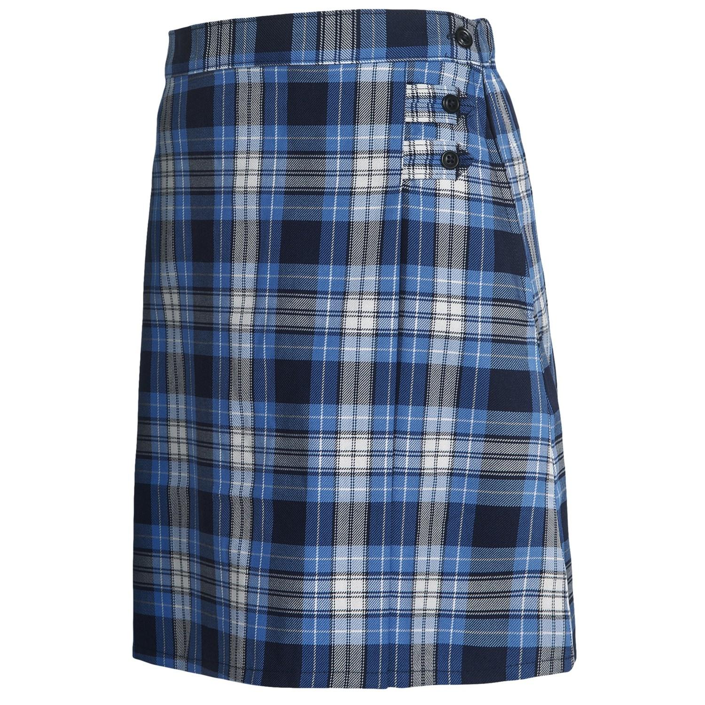 Blue Plaid Skirt - Hardcore Home Porn