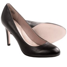 Lands' End Ashby Essential High Heels - Leather (For Women) in Black - Closeouts