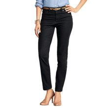 Lands' End Fit 2 Tummy Control Colored Skinny Jeans (For Plus Size Women) in Black - Closeouts