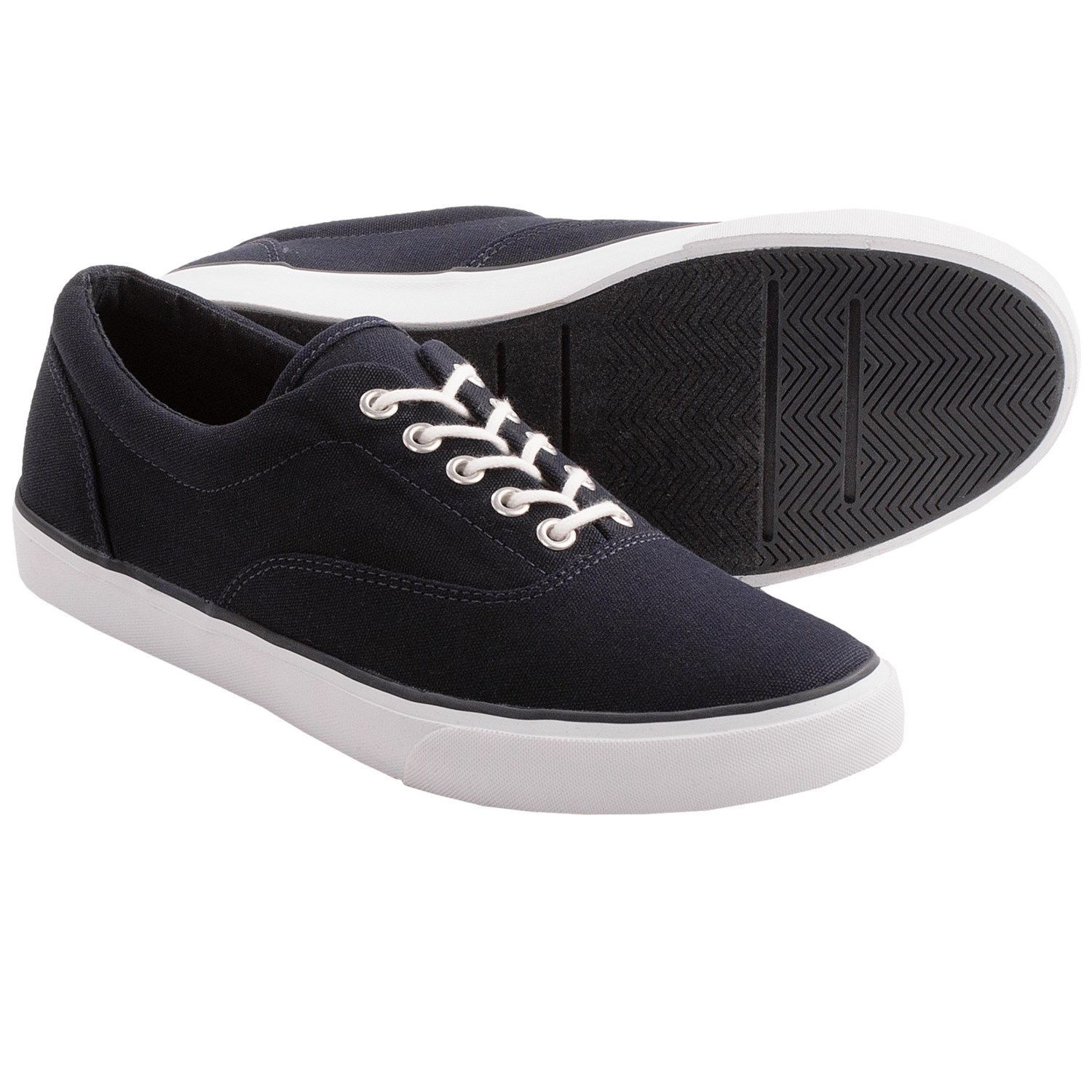 lands end mainstay canvas shoes for in true navy