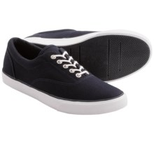 Lands' End Mainstay Canvas Shoes (For Men) in True Navy - Closeouts