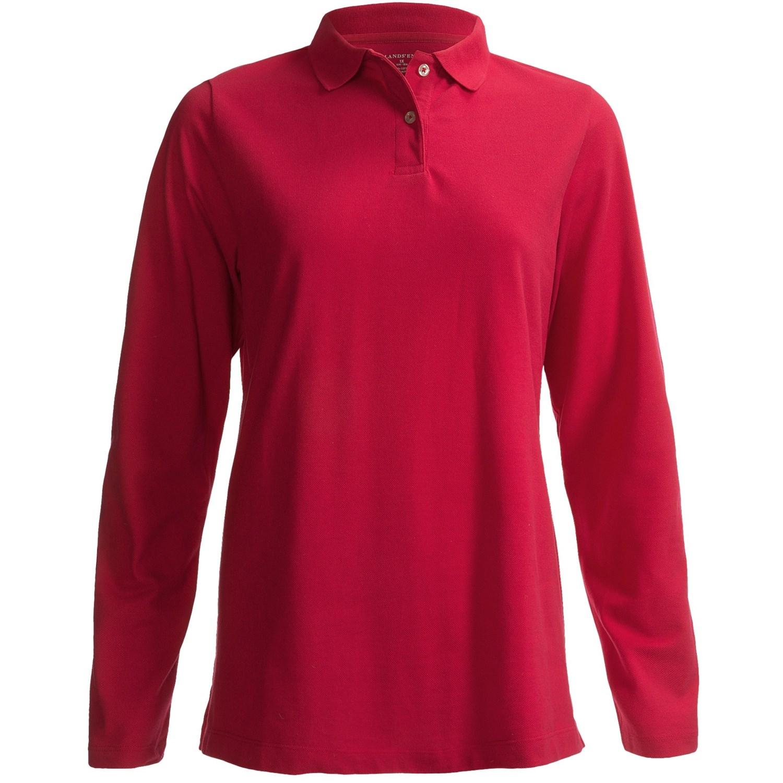 Ladies Long Length Polo Shirts