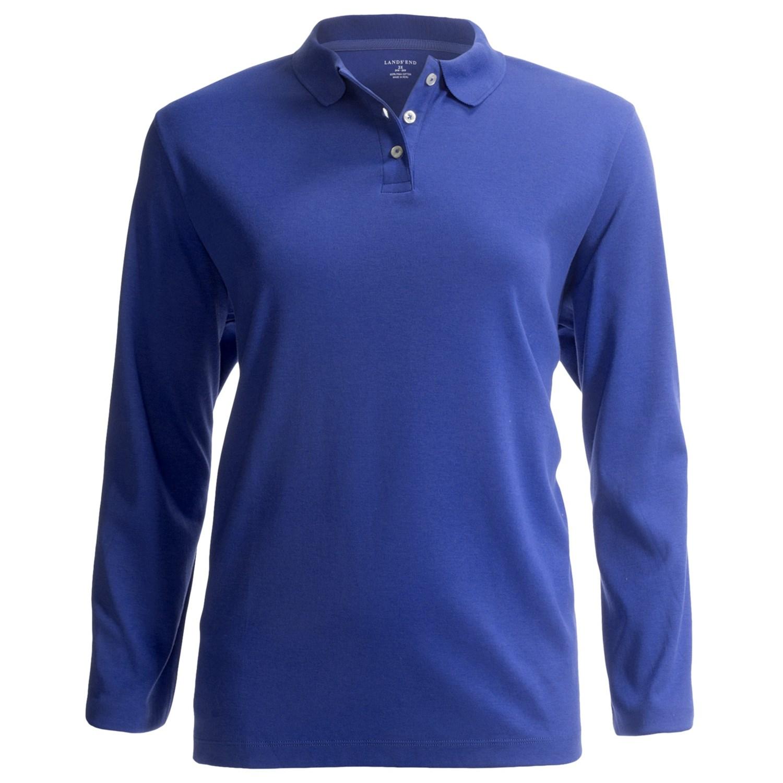 Cobalt blue polo shirt womens for Cobalt blue polo shirt
