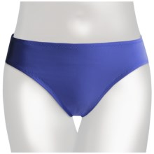 Lands' End Regular Lela Beach Bikini Bottoms - Mid Rise (For Women) in Light Blueberry - Closeouts