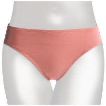 Lands' End Regular Lela Beach Bikini Bottoms - Mid Rise (For Women) in Peach Blossom - Closeouts