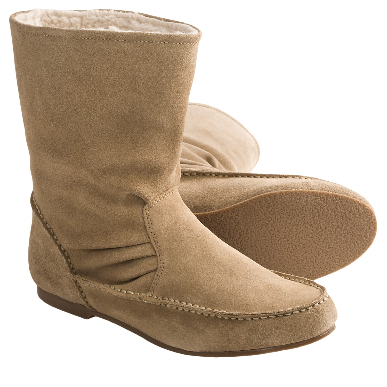 womens snow boots lands end