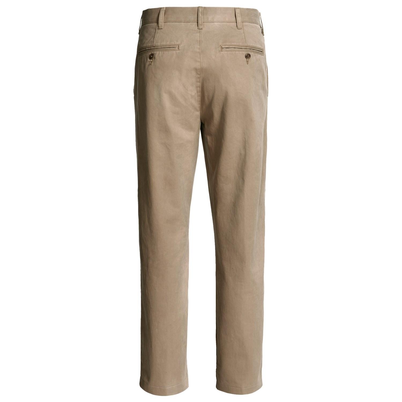 Brown Chino Pants Men