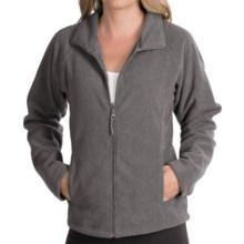 Landway Fleece Jacket - Zip Front (For Women) in Grey Heather - Closeouts