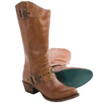 "Lane Boots Wilde Ride Riding Boots - 13"", Leather (For Women) in Tan - Closeouts"