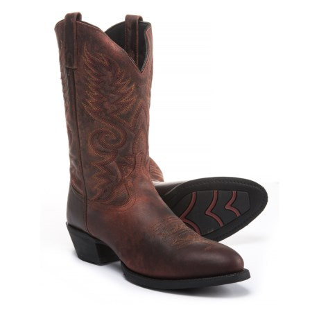 "Laredo Benny Cowboy Boots - 12"" (For Men) in Brick"
