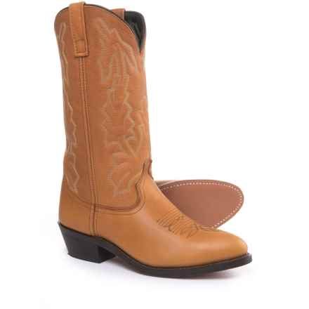 "Laredo Jacksonville Cowboy Boots - Point Toe, 12"" (For Men) in Tan - Closeouts"
